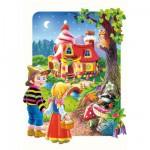 Castorland-02153 Pièces Maxi - Hansel et Gretel