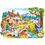 Castorland-02160 Pièces Maxi - Le petit chaperon rouge
