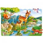 Castorland-02177 Pièces Maxi - Bambi