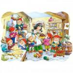 Castorland-02207 Pièces Maxi - Blanche neige et les 7 nains