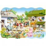 Castorland-02214 Pièces Maxi - La ferme
