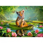 Castorland-030156 Tiger Lily
