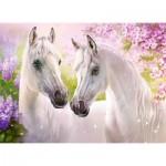 Castorland-030378 Romantic Horses