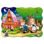 Castorland-03532 Hansel et Gretel