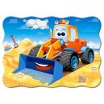 Castorland-03600 Funny Bulldozer