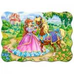 Castorland-03617 La Princesse et son Cheval