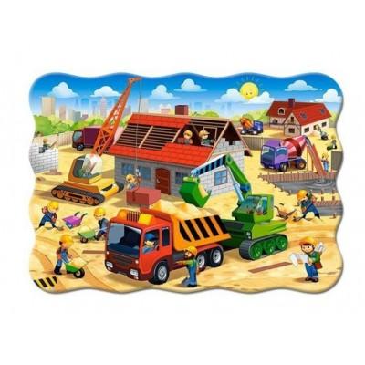 Castorland-03686 Maison en Construction