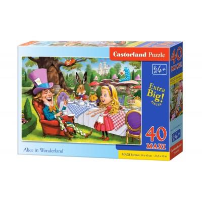Castorland-040292 Pièces XXL - Alice au Pays des Merveilles