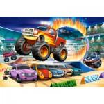 Castorland-040308 Pièces XXL - Jumping Monster Truck