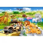Castorland-040322 Safari Aventure