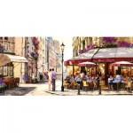Castorland-060085 Richard Macneil : Lovers in Paris