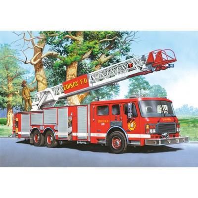 Castorland-06595 Camion de pompier