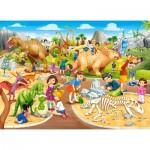 Castorland-070046 Parc aux Dinosaures