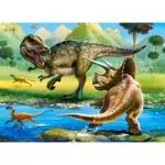 Castorland-070084 Dinosaures
