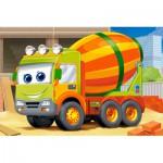Castorland-08521-BP8 Mini Puzzle - Camion Toupie