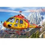 Castorland-08521-LO2 Mini Puzzle - Hélicoptère