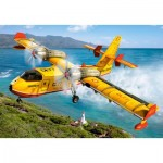Castorland-08521-LO3 Mini Puzzle - Hélicoptère