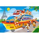 Castorland-08521-P1 Mini Puzzle - Paris
