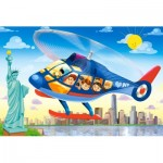 Castorland-08521-P5 Mini Puzzle - New York