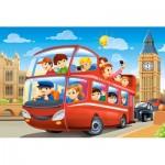 Castorland-08521-P8 Mini Puzzle - Londres