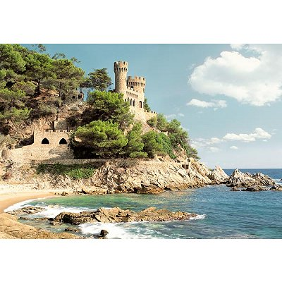 Castorland-100774 Côtes d'Espagne : Lloret de Mar
