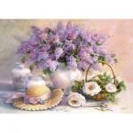 Castorland-102006 Trisha Hardwick : Jour de lilas