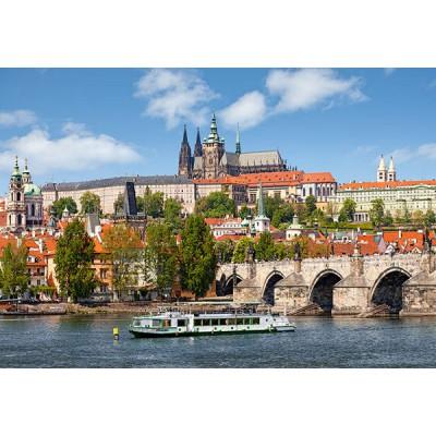 Castorland-102426 République Tchèque, Prague