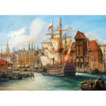 Castorland-102914 Pologne : Vieux Gdansk