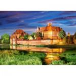 Castorland-103010 Pologne : Château Malbork