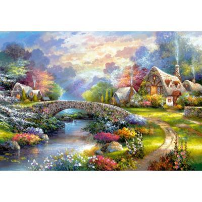 Castorland-103171 Springtime Glory