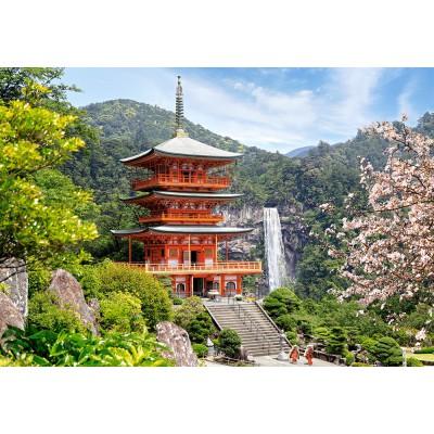 Castorland-103201 Seiganto-Ji Temple, Japan