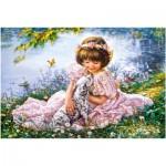 Castorland-103249 Puppy Love