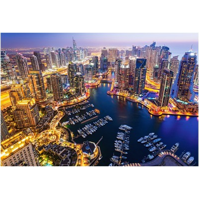 Castorland-103256 Dubai at Night
