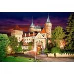 Castorland-103393 Bojnice Castle at Night
