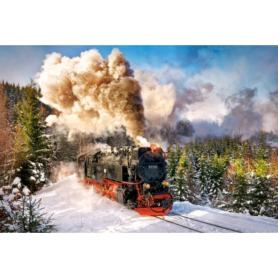 Castorland-103409 Steam Train
