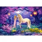 Castorland-103614 Le Jardin de la Licorne