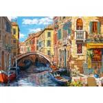 Castorland-103683 Reflets de Venise