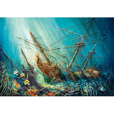 Castorland-103805 Ocean Treasure