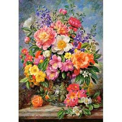 Castorland-103904 June Flowers in Radiance