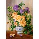 Castorland-103928 Floral