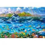 Castorland-104017 Ocean Panorama