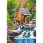 Castorland-104055 Spring Mill