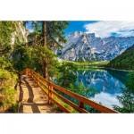 Castorland-104109 Pragser Wildsee, Italie