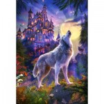 Castorland-104178 Wolf Castle