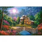 Castorland-104208 Cottage in The Moon Garden