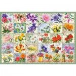 Castorland-104338 Vintage Floral