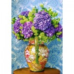 Castorland-104352 Bouquet of Hydrangeas