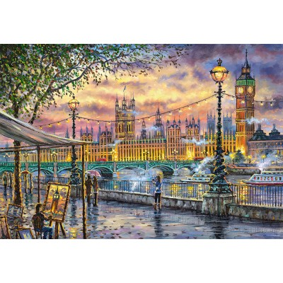 Castorland-104437 Inspirations of London