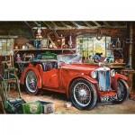 Castorland-104574 Garage Vintage