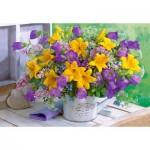 Castorland-104642 Flowers & Garden